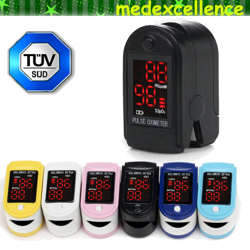 Portable LED Digital Finger Oximeter Pulsioximetro Blood Oximetro Pulse Rate Heart Rate Monitor Fingertip Pulse Oximeter