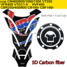 FASP Fuel Tank Cap Decal Pad Sticker Pure Carbon FOR  CBR CB RVF VFR NSR compatible with63vehicle(s).