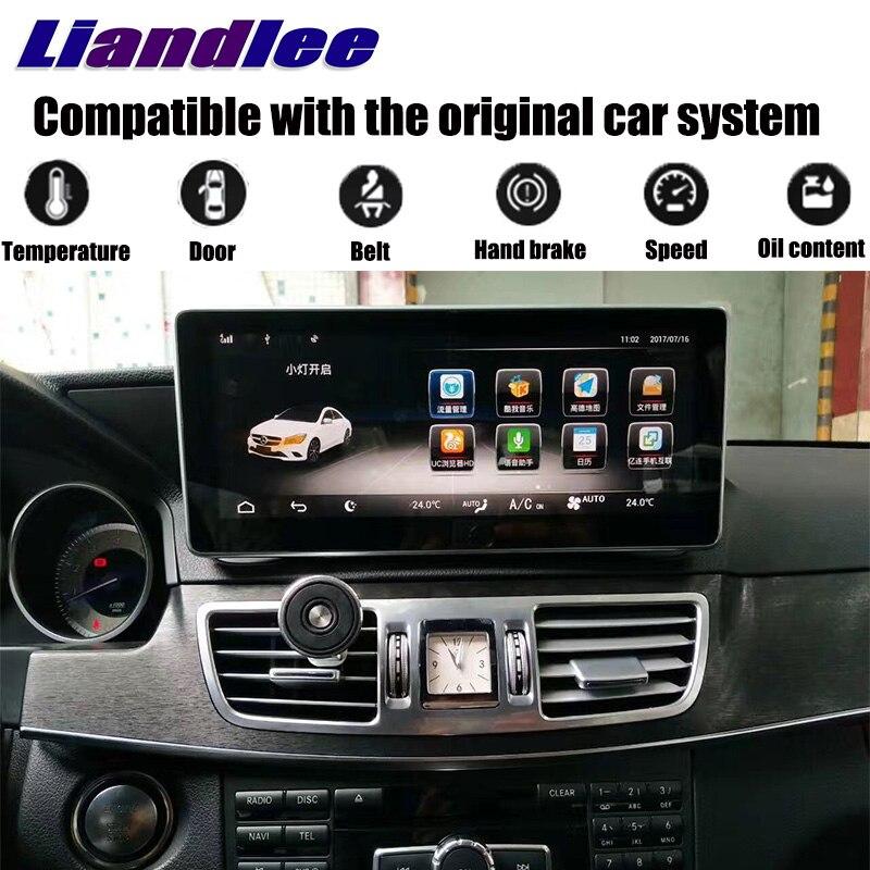 LiisLee автомобильный мультимедийный плеер NAVI для Mercedes Benz MB E C207 A207 2009 ~ 2017 купе оригинальный автомобиль Стиль радио gps карта навигации