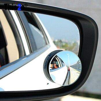 Espejo convexo redondo de ángulo amplio de 2 uds para VW jetta Golf 6 POLO Passat Cruze kIA RIO K2 HYUNDAI IX35 Solaris Skoda