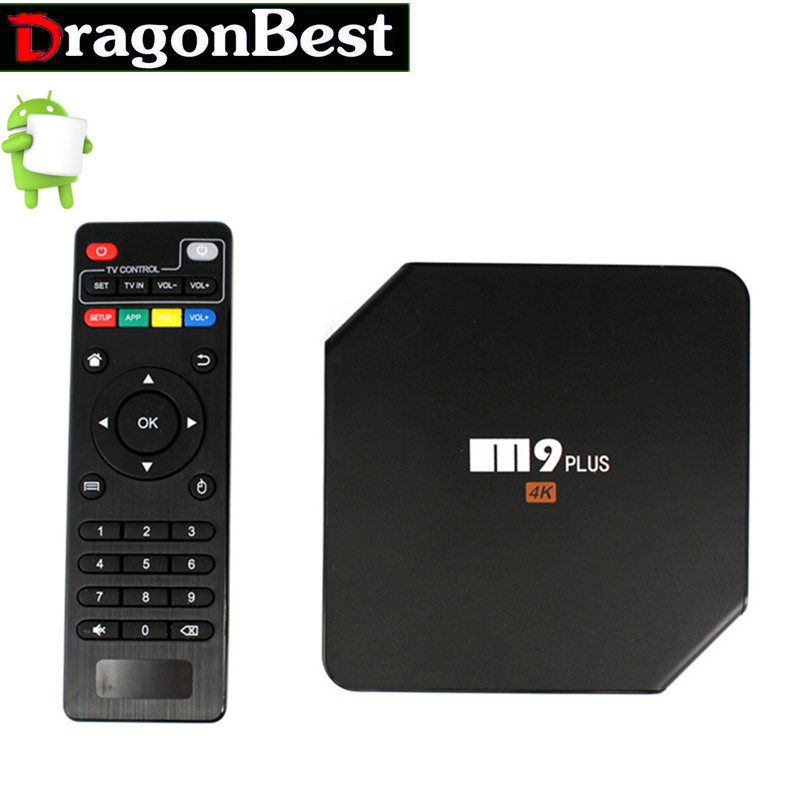 TV Box Amlogic S905 Android 5.1 4K Quad Core 2G 16G 2.4G/5GHz Dual WIFI HDMI Bluetooth Media Player  M9 Plus [spain stock] tronsmart vega s89 amlogic s802 2 0ghz quad core android tv box 2g 16g dual band wifi 2 4g 5g bluetooth4 0 xbmc black