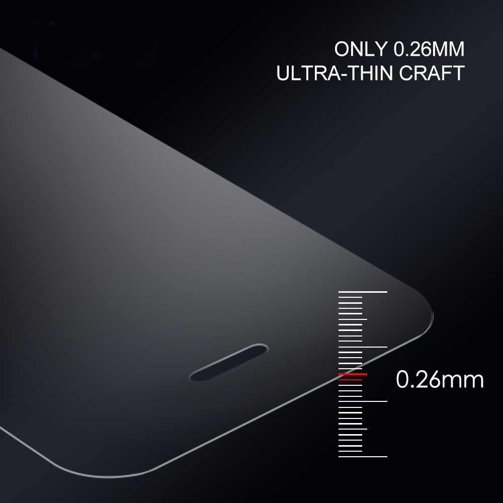 De cristal templado película protectora 9 H de alta calidad a prueba de explosiones Protector de pantalla LCD para DEXP Z250 BL150 Z455 B255 BL250