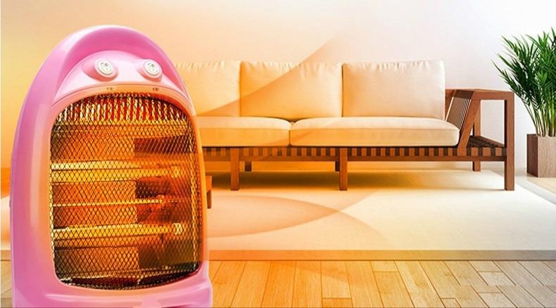 Little home desktop electric heaters quiet dark energy saving heater heating machine energy conservation and solar energy water heater electric heating tube flange air heating elements quartz glass heater tuebe