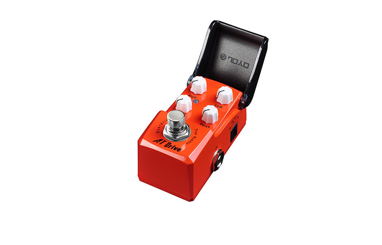 JOYO JF-305 Guitar Effect Pedal/ AT Drive Train Ironman Series Mini Pedal /Guitar Accessories joyo ironman at drive overdrive electric guitar effect pedal true bypass jf 305 with free 3m cable