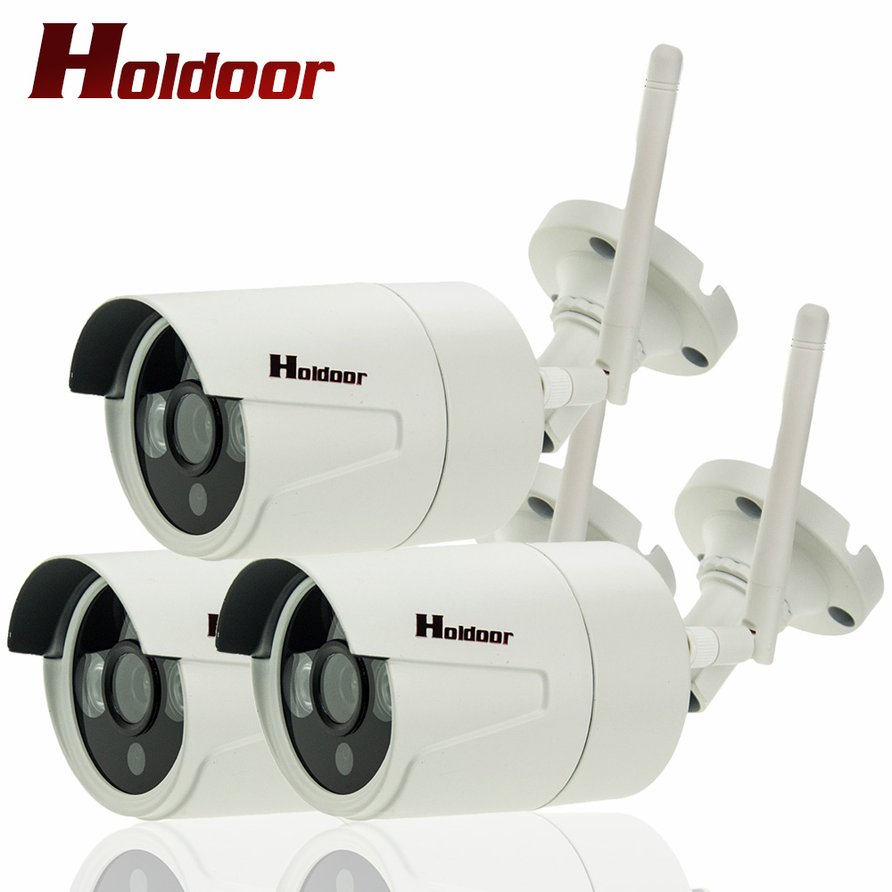 3 Pcs Onvif IP Cameras WIFI Megapixel 1080P HD Outdoor Wireless Security CCTV Cam Infrared SD Card Slot P2P Bullet Kamera outdoor ip camera wifi megapixel 720p hd security cctv ip cam ir infrared sd card slot p2p v380 bullet kamera