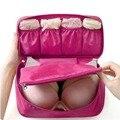 AOTU Tragbare Wasserdichte Frauen Unterwäsche Bhs Lagerung Tasche Mädchen Reise Kosmetik Make-Up Organizer Tasche Gepäck Fall Halter handtasche