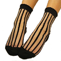 2016 summer style socks women fashion ultra-thin transparent cool casual harajuku anti-hook wire bars multicolor lace