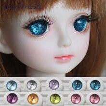 Abbyfrank Toy Eyes BJD Acrylic Doll Eyes Doll Accessories 1Pair 1 4 1 6 1 8
