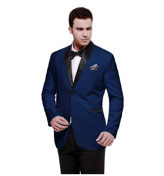 Traje chaqueta azul marino