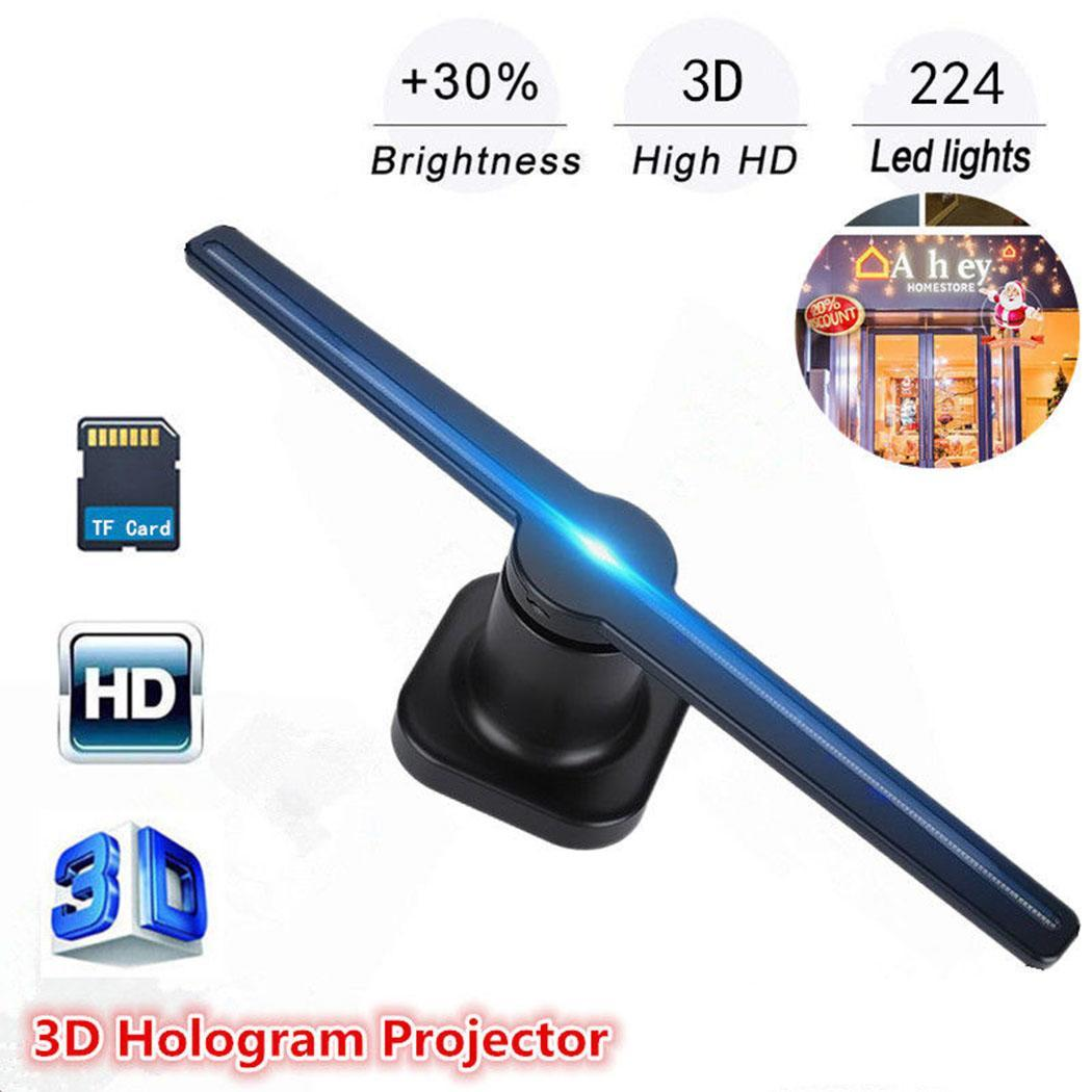 Holographic Fan Advertising Machine 3D Naked Eye Z1 15W Black Stereoscopic Projection Imaging 85~260V US, EUHolographic Fan Advertising Machine 3D Naked Eye Z1 15W Black Stereoscopic Projection Imaging 85~260V US, EU