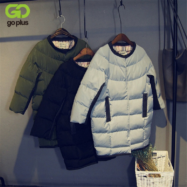 GOPLUS Womens Winter Jackets and Coats 2016 Long Cotton Padded Jacket Thick Parkas Coat Women Casacos Feminino Manteau Femme