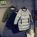Goplus para mujer chaquetas de invierno y abrigos 2016 chaqueta acolchada larga de algodón grueso parkas coat mujeres feminino casacos manteau femme
