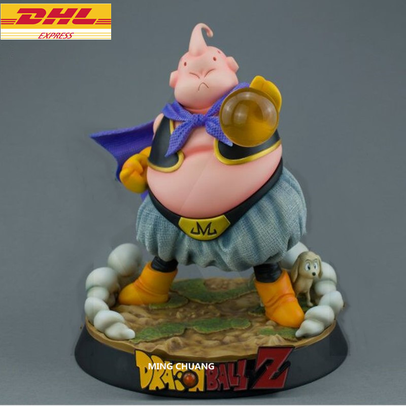 Statue Dragon Ball Z Majin Buu Bust Fat Buu Son Goten And Vegeta Jr Enemy GK Action Figure Collectible Model Toy BOX D730