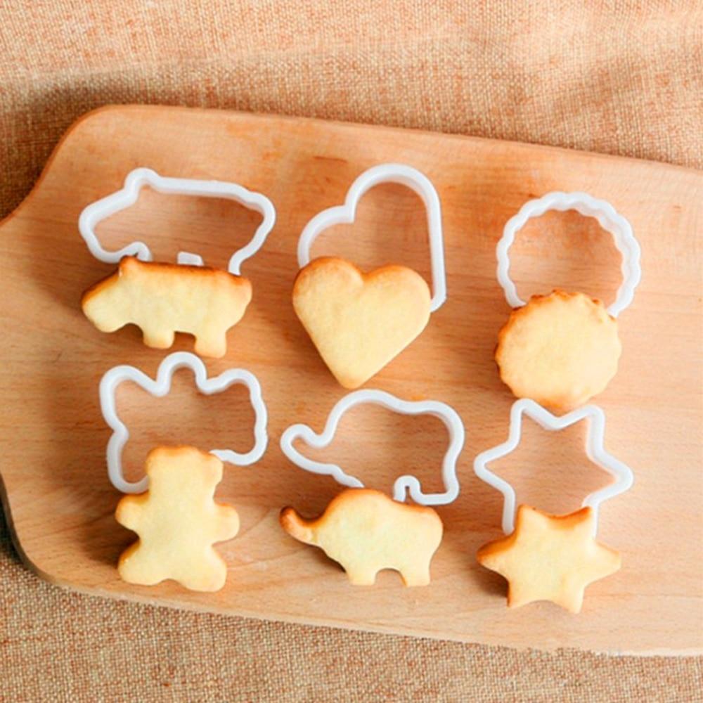 Home Cake Decorating: Aliexpress.com : Buy New 6Pcs Fondant Cake Cutter Mold