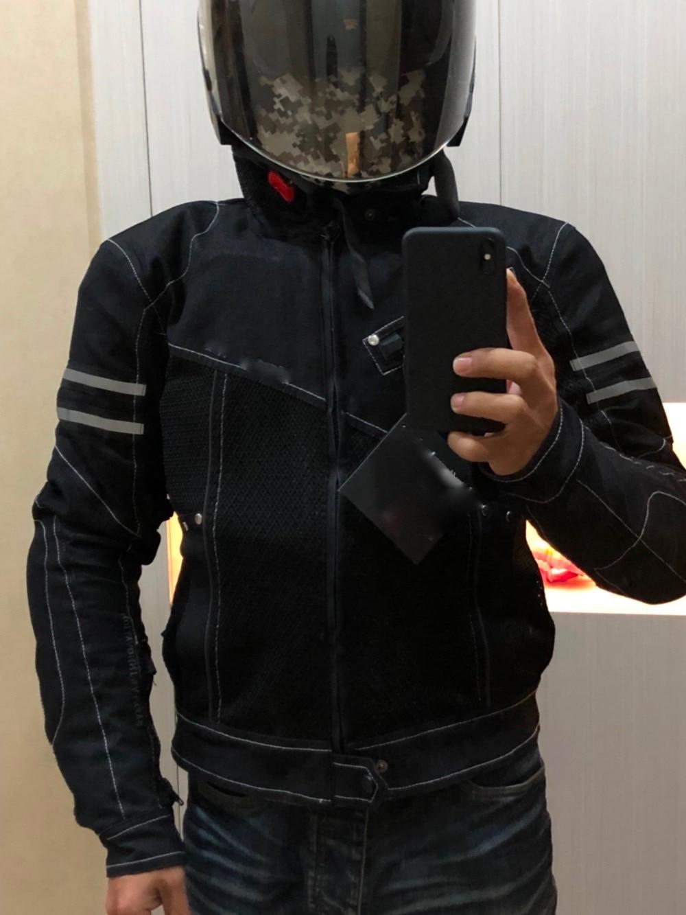 JK-006 Vintage Denim Mesh Jacket a8
