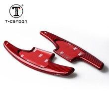 Т-Карбоновые Стекловолоконные весла переключения крышки подходят для Fit, VEZEL, XRV