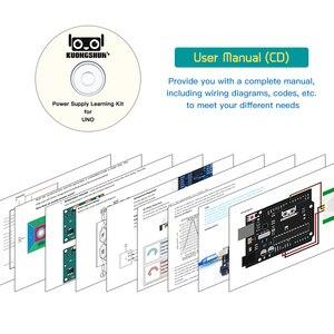Image 4 - تتفاعل لتقوم بها بنفسك عدة لمشروع UNO R3 مجموعة بداية كاملة مع فيديو تعليمي (63 قطعة) والبرمجة