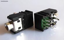 5 шт. 3,5 мм разъем для наушников, 5-контактный разъем DIP для наушников, разъем для PJ-306B