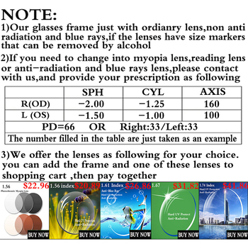 Spectacle Frame Women Eyeglasses Computer Myopia Optical For Female Eyewear Clear Lens Glasses Frame 1