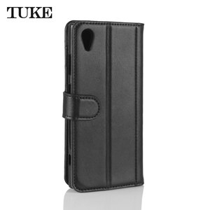 Image 5 - TUKE אמיתי עור Flip Case עבור Sony XA1 בתוספת ארנק סטנד כיסוי עבור Sony Xperia XA1 + G3421 G3423 SM11L g3412 G3416 טלפון תיק