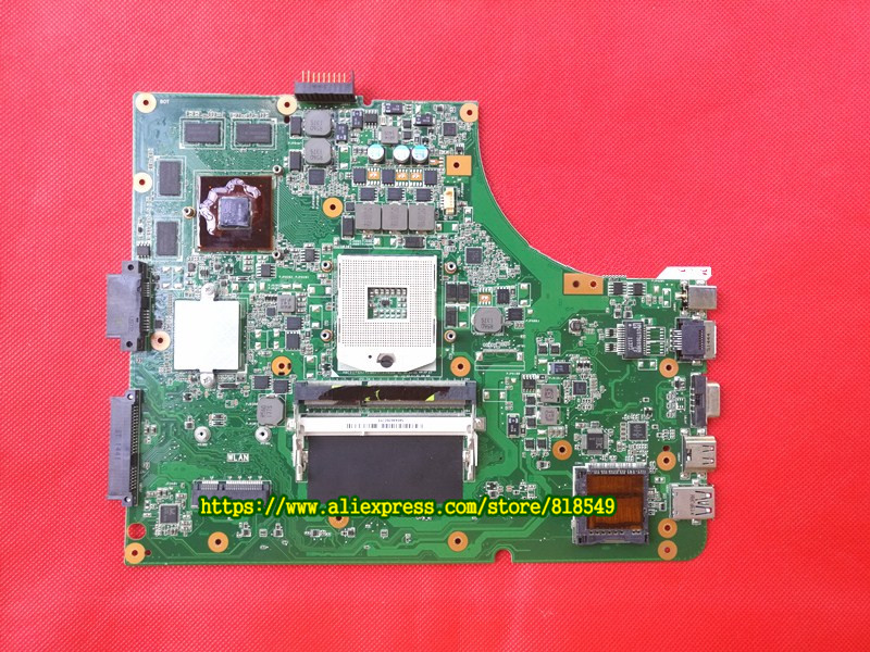 Original K53SV Motherboard / Mainboard rev 2.3 / rev 3.0 / rev 3.1 Fit For Asus K53S A53S X53S P53S Notebook N12P-GS-A1 GT540M original for asus et2400x motherboard mainboard rev 1 3 with n11e gs a1 100