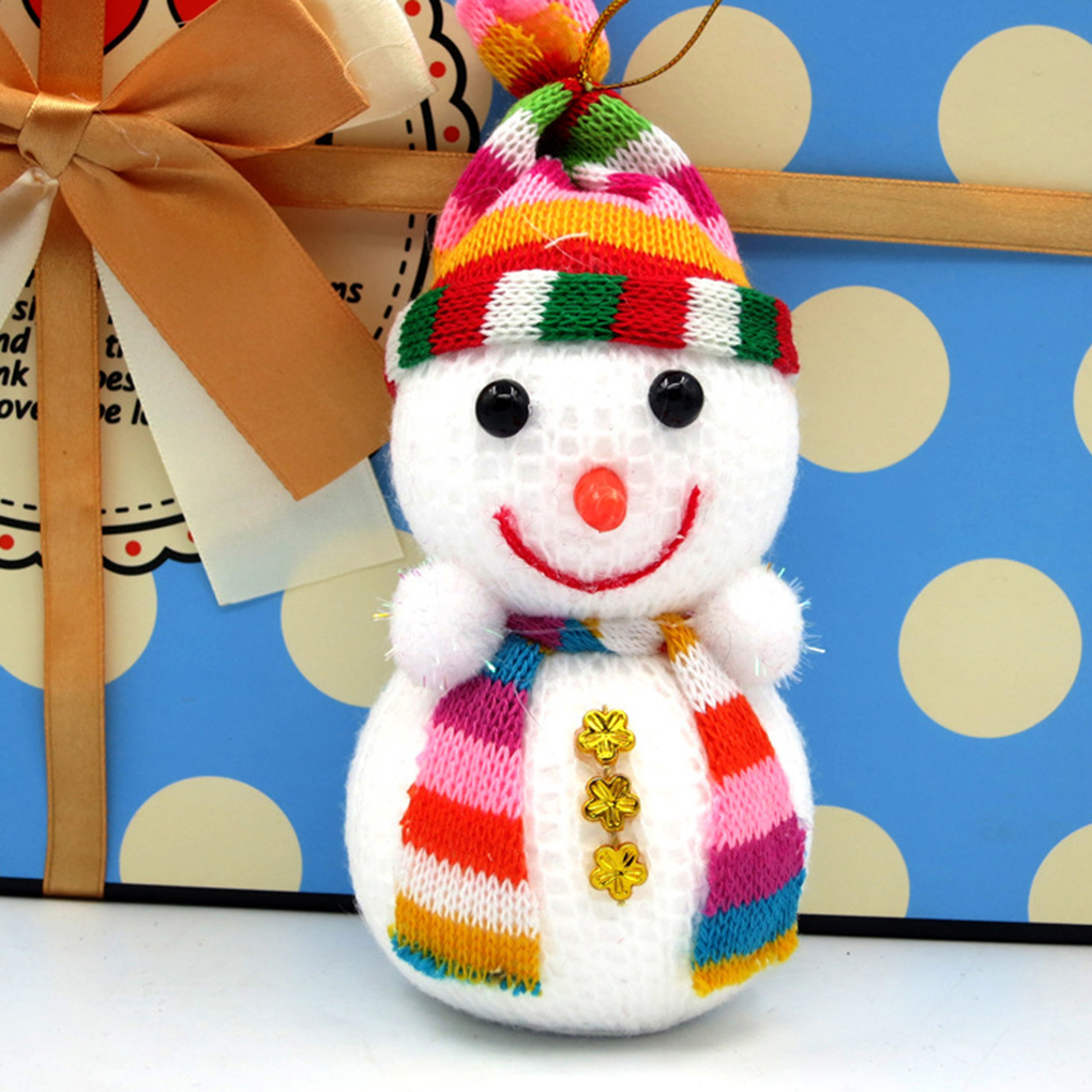 Christmas tree decorations Christmas snowman toy doll Christmas gifts doll SML