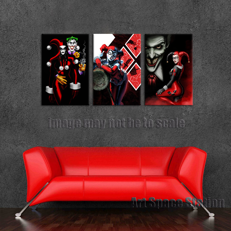 Buy free shipping harley quinn and the for Harley quinn bedroom ideas