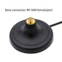 sma נקבה נתב מגנטי בסיס אנטנה Booster RP-SMA זכר נקבה WIFI כבל מאריך חיצוניים נתב רשת 2.4G 4G אנטנות הרחבה (3)