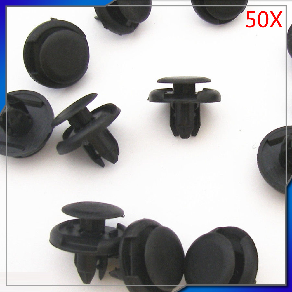 50x Bumper Fender Push Fascia Retainer Clips Fasteners 8mm Hole For 2003 Mustang Fuel Filter Honda Accord Civic Crv Fit Odyssey Acura 91512 Sx0 003 B14 In Auto Fastener Clip From