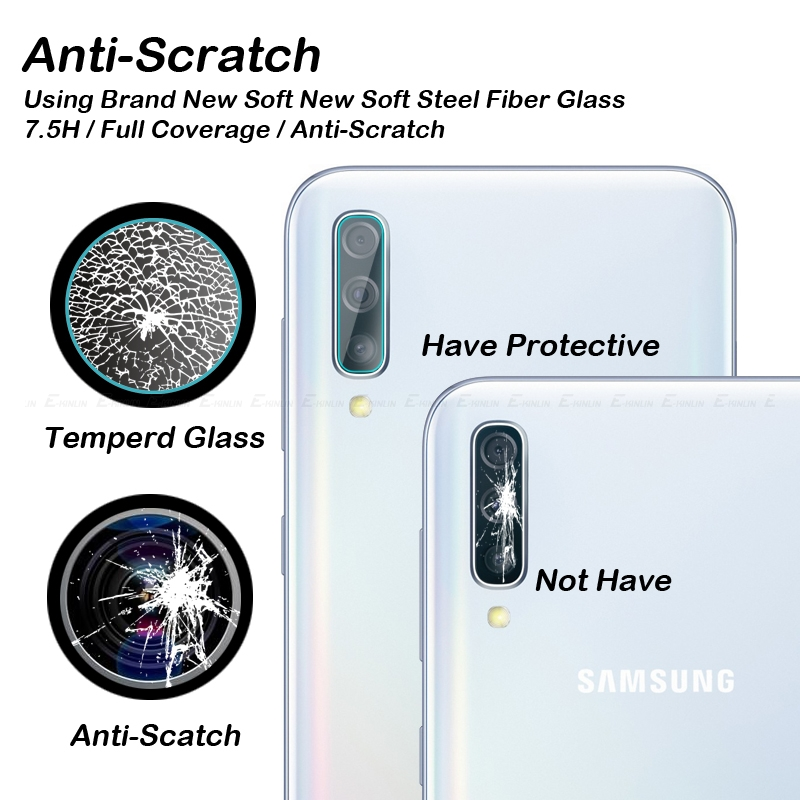 Image 4 - Back Camera Lens Tempered Glass For Samsung Galaxy A10s A10 A20 A20e A30 A40 A50 A60 A70 A80 A90 5G Protector Protective Film-in Phone Screen Protectors from Cellphones & Telecommunications