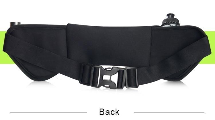 Outdoor Women&Men Hydration Belt For Trail Running Hip Waist Pack Gym Fitness Jogging Waist Bag Water Bottle Sport Accessories 13