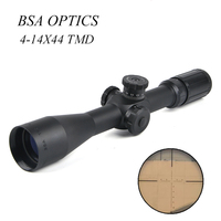 BSA OPTICS TMD 4 14X44 FFP Rifle Sight Hunting Rifle Scope Tactical Riflescope Sniper Gear Air Soft Gun Hunt