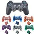 PS2 ためワイヤレスコントローラーゲームパッド Manette プレイステーション 2 Controle 万都ワイヤレスジョイスティック用 PS2 コンソールアクセサリ