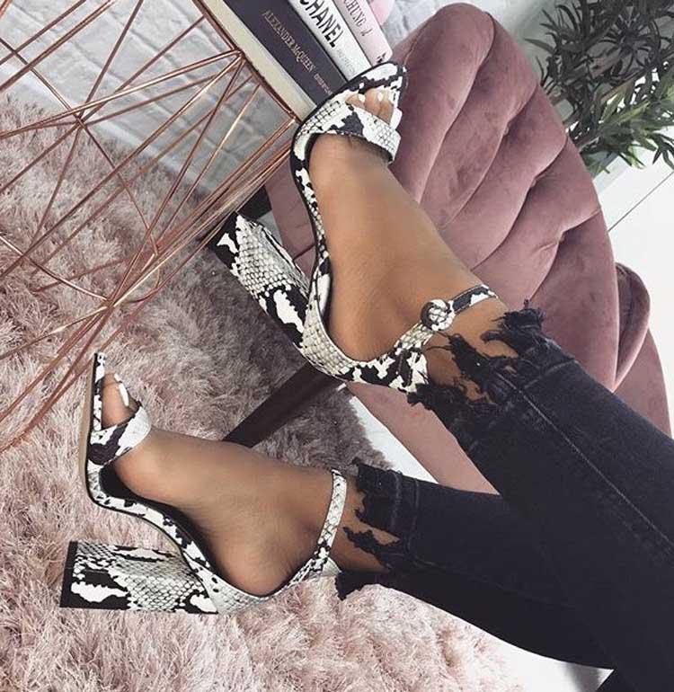HTB11hedXPzuK1Rjy0Fpq6yEpFXa1 Eilyken Women Ankle Strap Sandals Snake Print Square heel Fashion Pointed toe Ladies Fashion shoes 2019 New Women Sandals