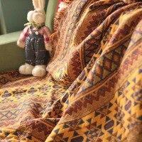 DIY Craft прибытие скатерть Cappa шарф плащ ковер ручной сцепляться Мода крючком одеяло подушки чувствовал в индийском стиле ковер подарок