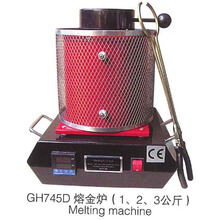 110V/220V Automatic Digital 1kg Melting Furnace for Jewelry molding