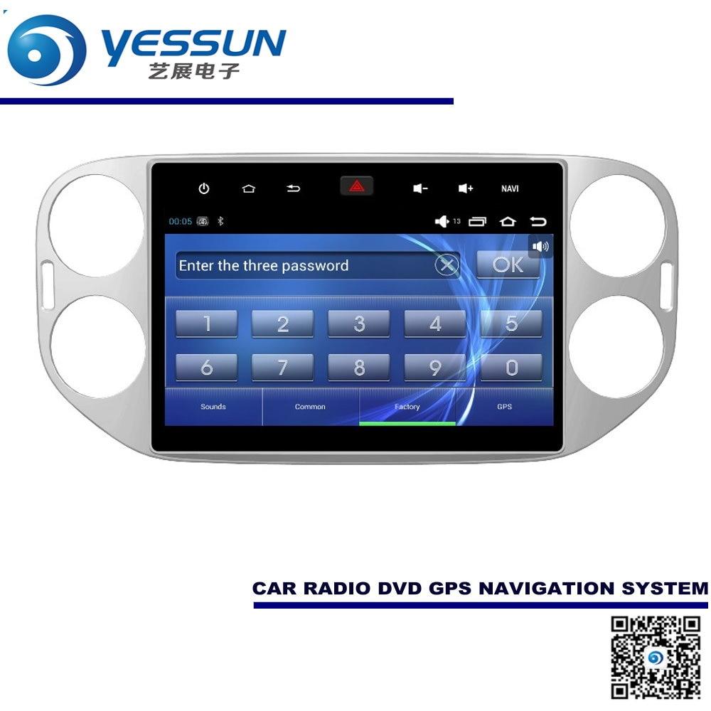Para volkswagen vw tiguan 2007 ~  coche android sistema de navegación gps radio