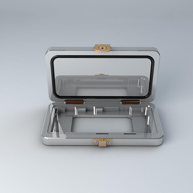 IPHONE X Bracket Pressing die Aluminum alloy positioning die Stenting glue Pressure retaining die mould die rauber