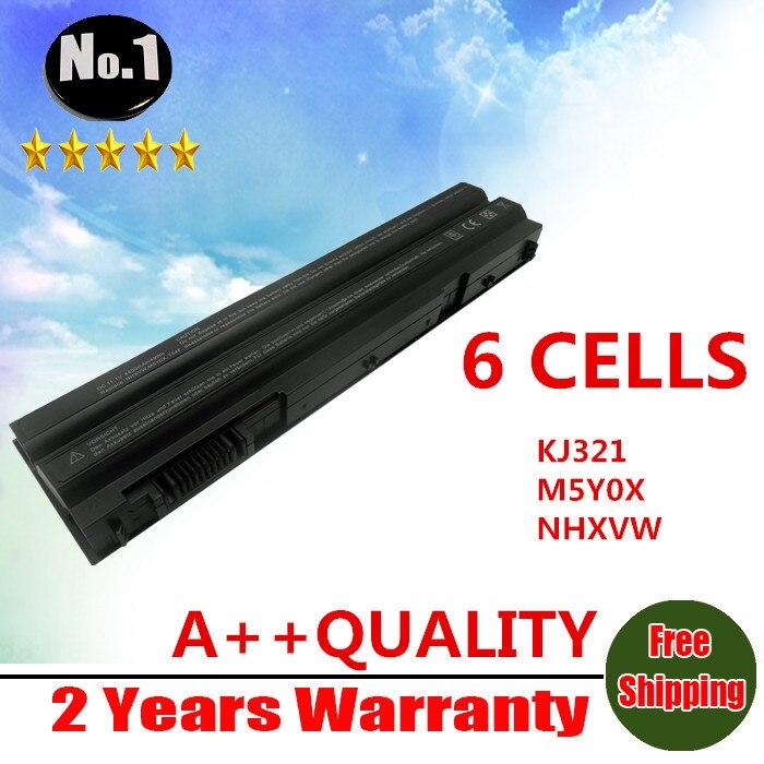 Prix pour En gros Nouveau 6 cellules batterie d'ordinateur portable POUR DELL Audi A5 A4 S5 Inspiron 14R E6420 Série KJ321 NHXVW M5Y0X T54FJ livraison gratuite