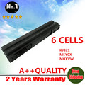 Wholesale New 6 cells laptop battery FOR DELL  Audi A5 A4 S5 Inspiron 14R   E6420 Series KJ321 M5Y0X NHXVW T54FJ free shipping