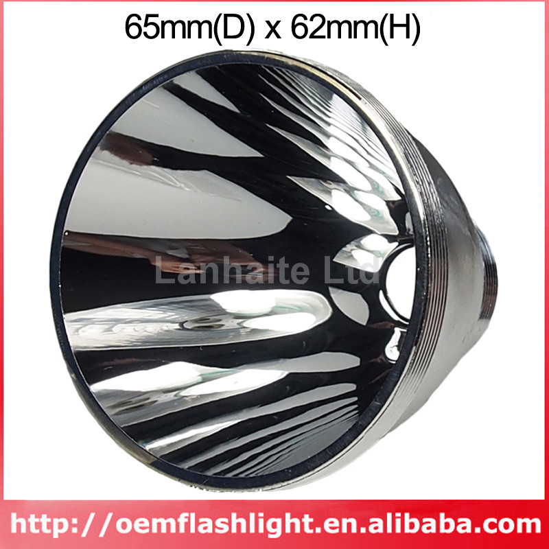 65mm(D) X 62mm(H) SMO Aluminum Reflector For SST-90