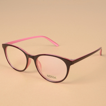 Simple Style Optical Prescription Glasses Frame Women Men Round Delicate Eyeglasses Frame Female Myopia Eyewear Casual Spectacle