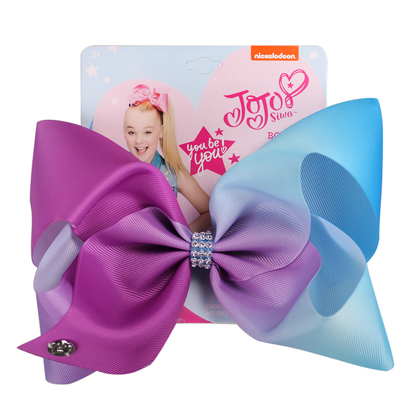 jojo girl large bow hair clips