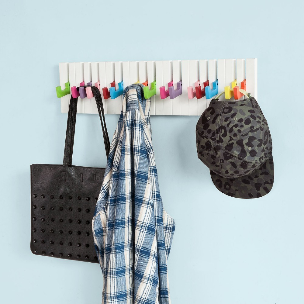 SoBuy FRG13, Piano Keyboard Towel Coat Umbrella Bag Hanger Hook Rack Stand HooksSoBuy FRG13, Piano Keyboard Towel Coat Umbrella Bag Hanger Hook Rack Stand Hooks