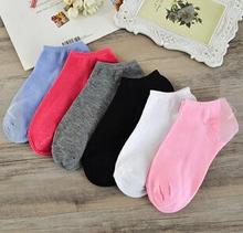 Free shipping women cotton socks 5 Candy Colored Female Casual good quality Sock Cute Socks Ladies lovely cheap Kawaii S65