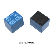 Free Shipping 100% new original relay 50pcs/lot T73 5V relay SRD 05VDC SL C  DC5V 5PIN 10A 250VAC