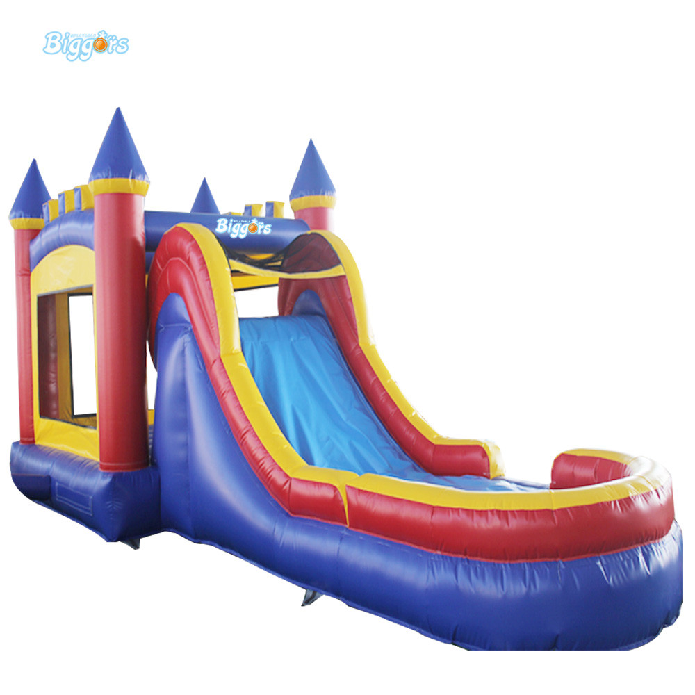 Commercial Inflatable Bouncy Castle Inflatable Bouncy Slide Bounce House With Air Blowers