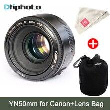 YONGNUO YN 50mm Lentille fixe focus lens EF 50mm F/1.8 AF/MF lentille Grand Ouverture Auto Focus Lens Pour Canon DSLR caméra