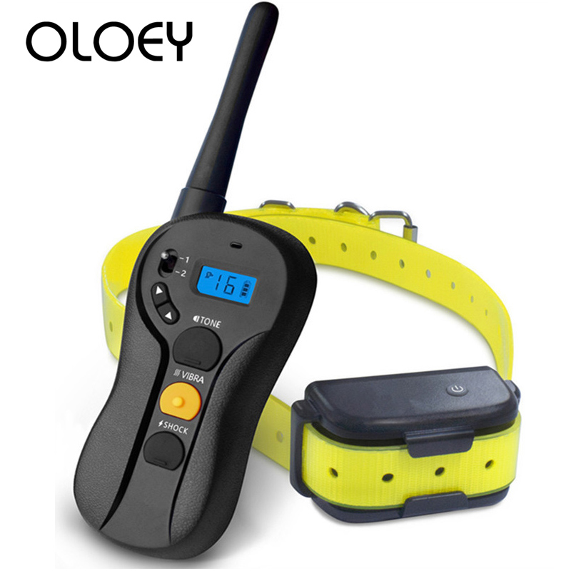 600m Electric Dog Training Collar Pet Remote Control Waterproof Rechargeable with LCD Display for All Size Shock Vibration Sound600m Electric Dog Training Collar Pet Remote Control Waterproof Rechargeable with LCD Display for All Size Shock Vibration Sound