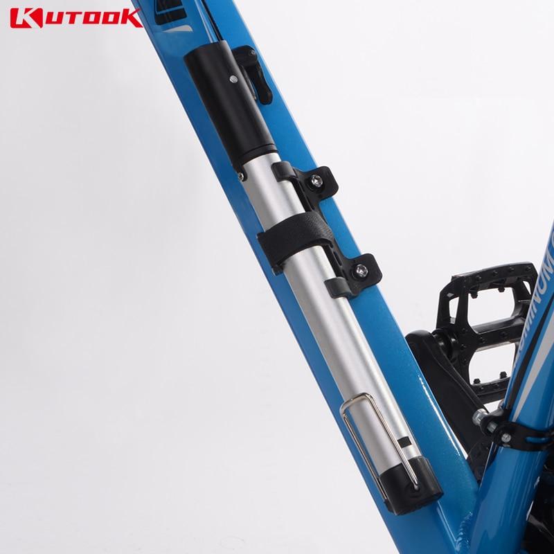 KUTOOK Bicycle Pump MINI Bike Pump Frame mounted MTB Pump 12.3 Inch ...